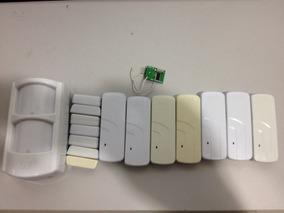 Kit Sensor Sem Fio 1 Ird 640 E 7 Sensor Magnético E 1 Rep
