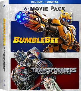 Blu-ray Transformers + Bumblebee Collection / 6 Films