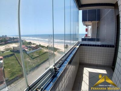 Apartamento Pé Na Areia Com Vista Para O Mar Em Itanhaém - Ap00004 - 34142926