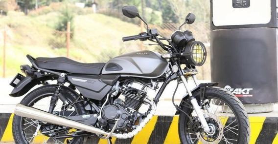 Moto Akt Gris Metal Edición Especial, Muy Bien Cuidada.