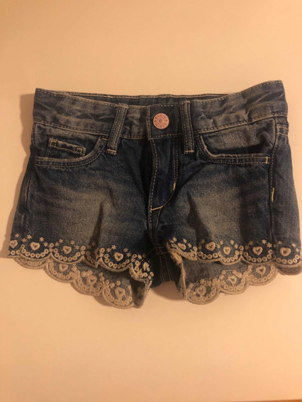 Short Jean Niña H&m Impecable