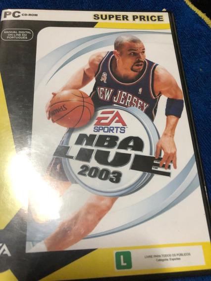 Jogo Pc Nba Live 2003 Super Price Original Computador Basket