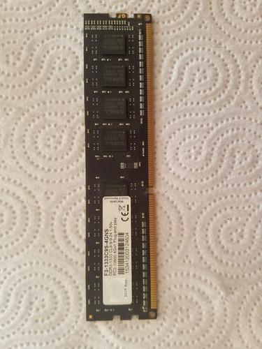 Memoria Ram G-skill 4gb Ddr3 1333 Mhz