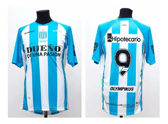 Camiseta De Racing Club Utilizada En Juego