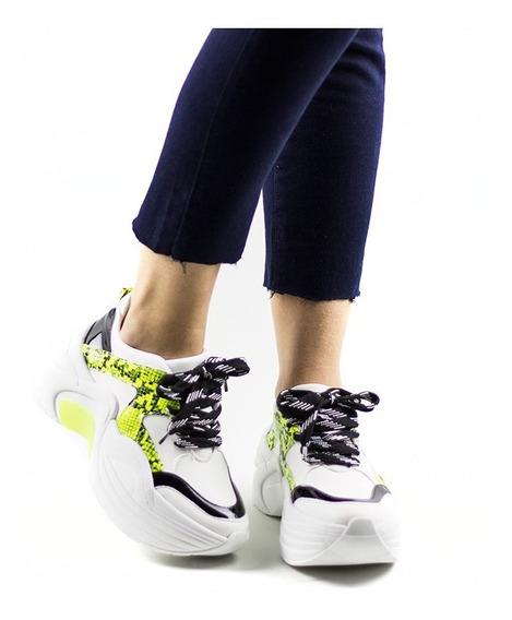Zapato Mujer Zapatillas Plataforma Sneakers Urbana Moda 2020
