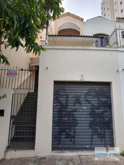 Casa Aluguer Comercial, 130 M² Por R$ 3.700/mês - Vila Mariana - São Paulo/sp - Ca0088