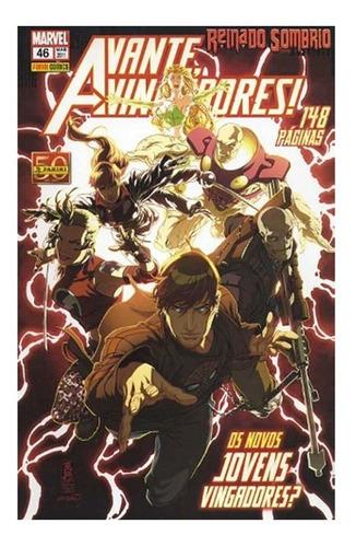 Avante Vingadores 46 Marvel Panini Reinado Sombrio