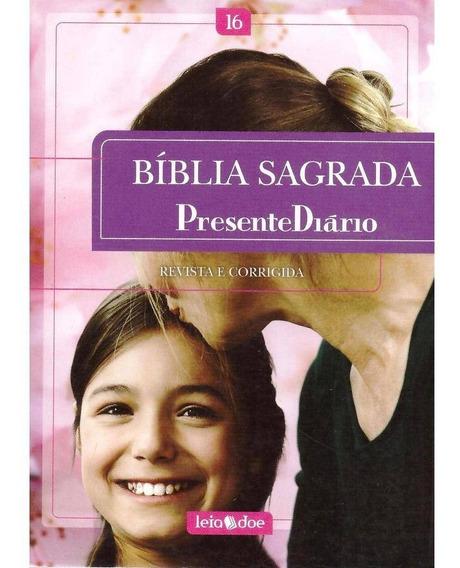 Bíblia Sagrada Presente Diário (rosa)