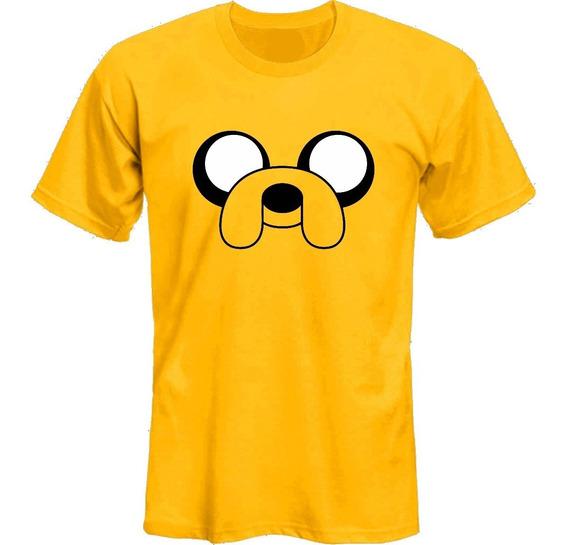 Remeras Adventure Time Hora De Aventura Jake *mr Korneforos*