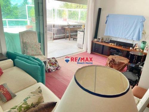 Imagem 1 de 27 de Cobertura Com 2 Dormitórios À Venda, 160 M² Por R$ 1.149.000,00 - Jardim Las Palmas - Guarujá/sp - Co0307