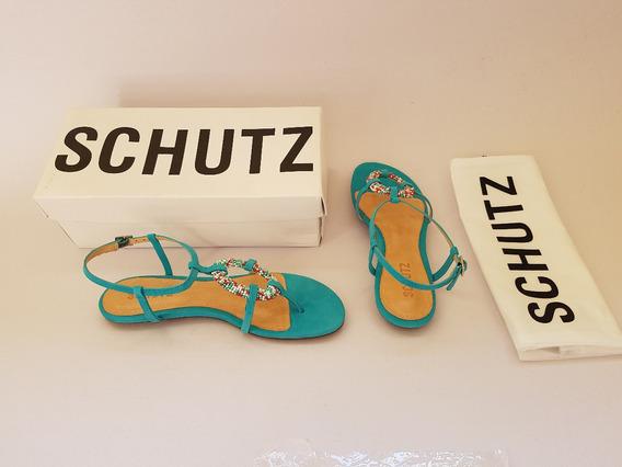 Sandália Schutz 37 Na Caixa