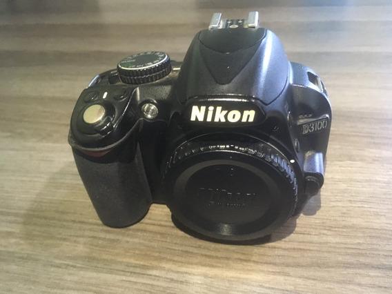Nikon D3100 - 64 Mil Clickes Somente Corpo