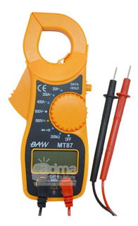 Pinza Voltamperométrica Baw Mt87 Voltaje Corriente Buzzer