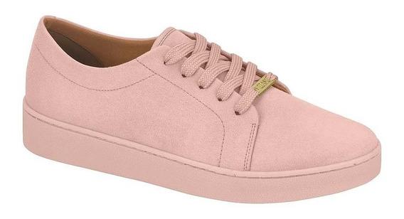 Tênis Feminino Vizzano Casual Camurça Color Rosa 1214205