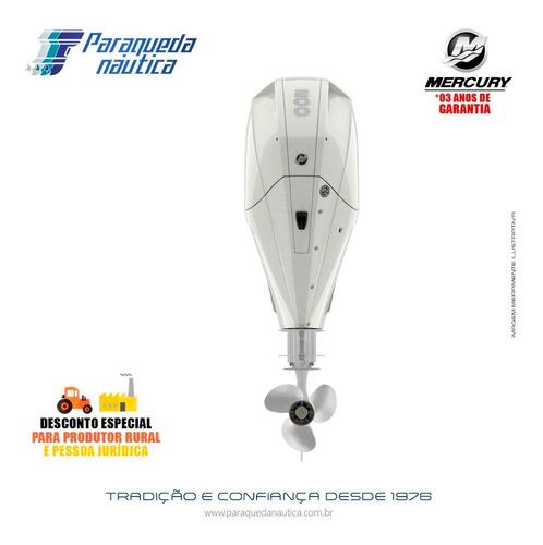 Motor De Popa Mercury 4 Tempos 200hp Xl Efi V6 Dts Branco