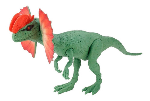 Imagen 1 de 5 de Jurassic World Dinosaurio Dilophosaurus 30 Cm Mattel