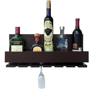 Cava Repisa Porta Botellas Vinos Mini Bar Cantina Chocolate
