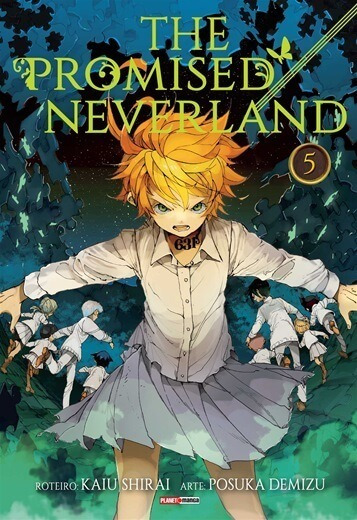 The Promised Neverland 5 Panini Mangá Novo Lacrado