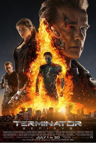 Imagen 1 de 2 de Poster  Original Cine: Terminator Génesis (motivo 3)