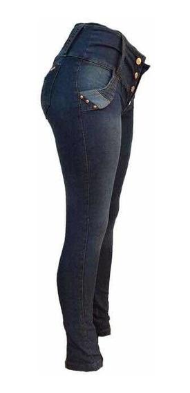 Pack X 2 Jeans Dama Chupin Elastizado Levanta Cola