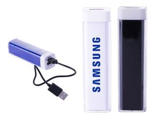 Batería Portátil Recargable, En Plástico Abs Con Dos Entrada