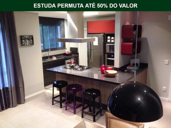 Apartamento No Anita Garibaldi 100% Mobiliado   02 Suítes   Estuda Permuta - Sa00591 - 33706847