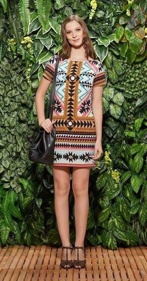 Vestido Antix Estampa Africana