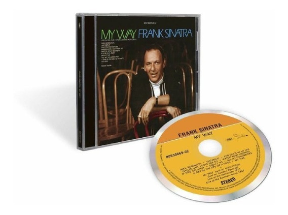 Frank Sinatra My Way 50th Anniversary Cd Nuevo 2019 Original