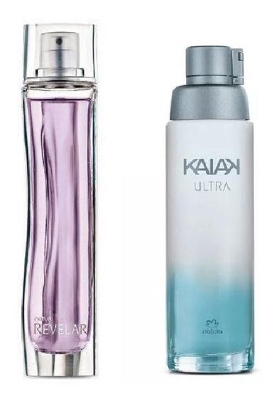 Combo Perfumes Femininos Natura Revelar + Kaiak Ultra