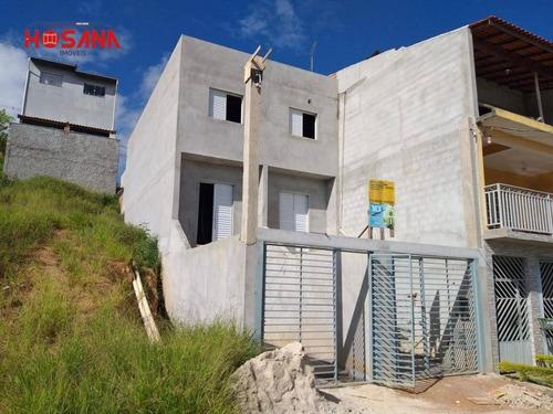 Sobrado Com 2 Dormitórios À Venda, 72 M² Por R$ 253.000,00 - Residencial Santo Antônio - Franco Da Rocha/sp - So1052