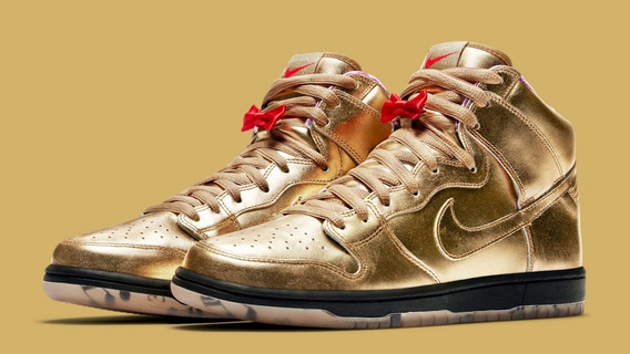 Nike Sb Dunk High Qs Humidity Coleccionable Importada Usa