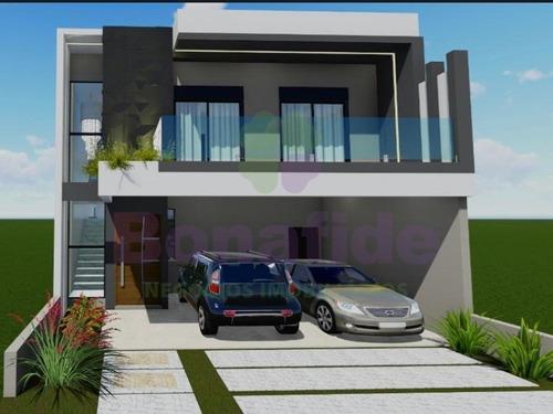 Casa Sobrado Nova, Condomínio Reserva Da Mata Currupira, Jundiaí - Ca09319 - 34182862