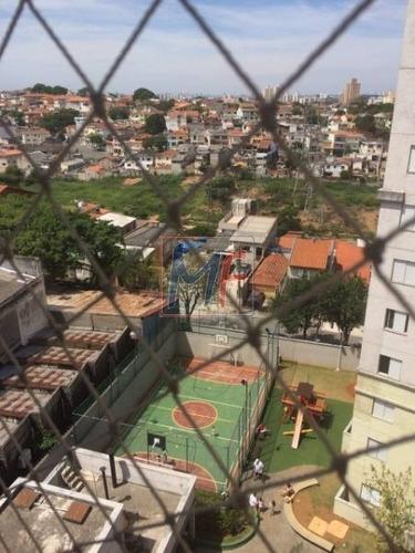 Imagem 1 de 17 de Ref 10.727 Apartamento No Parque Maria Domitila, Com 2 Dorms, 1 Vaga, Varanda C/ Vidros , Móveis Planejados,área De Lazer. Aceita Permuta - 10727