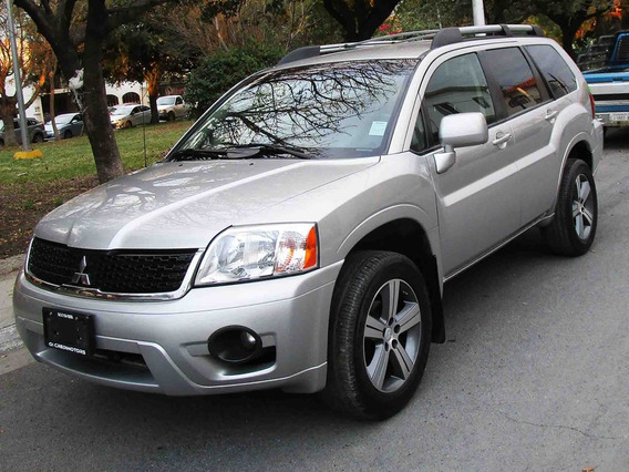 Mitsubishi Endeavor Xls 2009 Color Plata