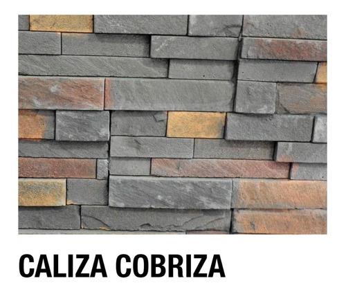 Revestimiento Cementicio Ecostone Caliza Cobriza 36