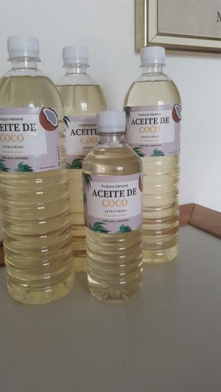 Aceite De Coco Sin Aditivos, Puro, Extravirgen