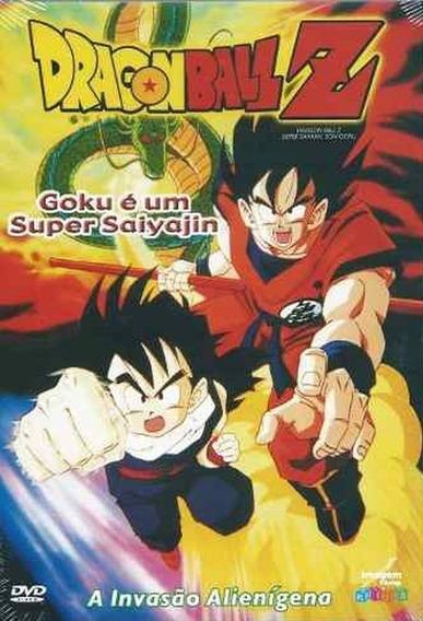 Dvd - Dragon Ball Z - Goku É Um Super Saiyajin - Lacrado