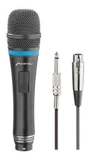 Microfono Alambrico Metal Hi-fi 50-14khz Profesional 12-8002