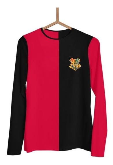Camisa Tamanho Xg Harry Potter Tribruxo Grifinoria J0076