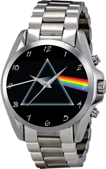 Relógio De Pulso Personalizado Banda De Rock - Cod.rkrp001