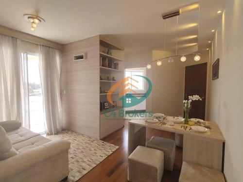 Imagem 1 de 21 de Apartamento Com 3 Dormitórios À Venda, 63 M² Por R$ 340.000 - Jardim Matarazzo - São Paulo/sp - Ap2350