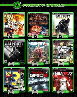 Juegos Ps3 Digitales Combo De 5 Juegos Somos Tienda Física