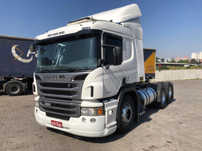Scania P 360 6x2 Optcruise Ano 2014 Automatica