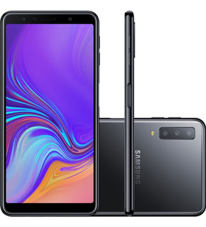Smartphone Samsung Galaxy A7 64gb Dual Chip Android 8.0 Tela