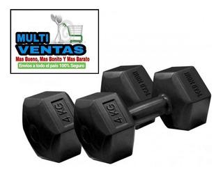 Pesas 4 Kg X 2 Iron Gym Original Multi-ventas