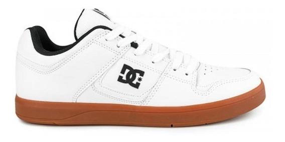 Zapatillas Dc Shoes Modelo Cure Blanco Marron