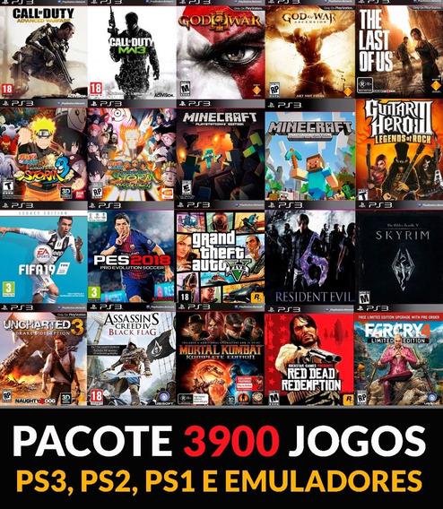 Pacote De Jogos Ps3 Digital Psn 3900- Leia A Descrição