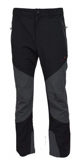 Pantalón Jeep Tipo Kevlar Hombre Elástico Ultraliviano Negro