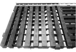 Kit 20 Pçs - Pallet Estrado Plastico 4,5 X 50x50 Cor Preto