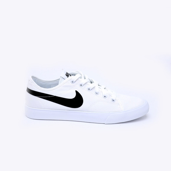 Tenis Nike Primo Court Canvas Blanco